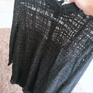 &other stories hollow-carved skirt!